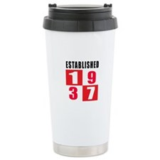 Established 1937 Ceramic Travel Mug