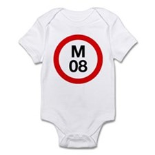 M08 Onesie (pink, baby blue, white)