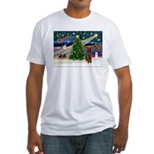 Xmas Magic & Airedale (#1) Shirt