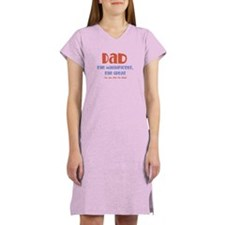 Dad, The Magnificent Women's Nightshirt