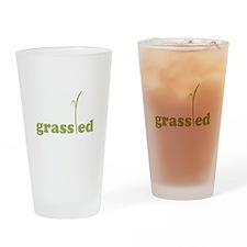 Grass Fed Organic Lifestyle Drinking Glass