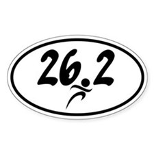 26.2 Marathon Decal