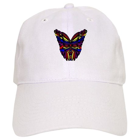 Stained Glass Butterfly Wings Cap