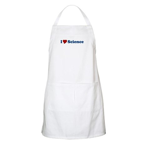 I Love Science BBQ Apron