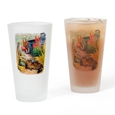 Visitors Drinking Glass