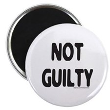 NOT GUILTY Magnet