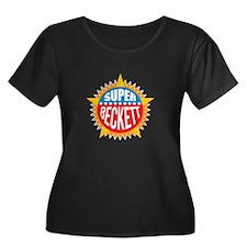 Super Beckett Plus Size T-Shirt