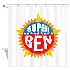 Super Ben Shower Curtain