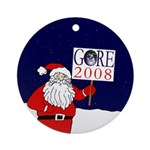 Santa for Gore Christmas Tree Ornament