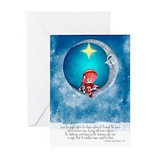 Christmas Card With Elf Night Before Christmas