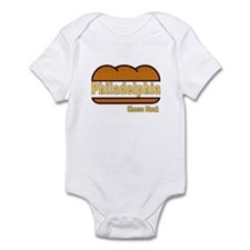 Philadelphia Cheesesteak Infant Bodysuit