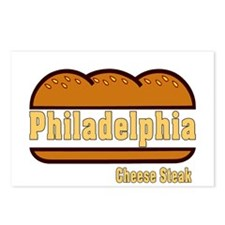 Philadelphia Cheesesteak Postcards (Package of 8)