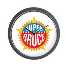 Super Bruce Wall Clock