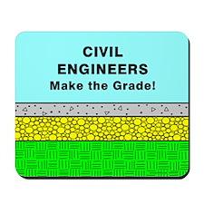 Civil Engineers Make the Grade Mousepad