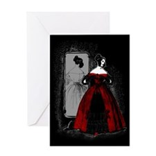 Fashion Plate Revamped Greeting Card