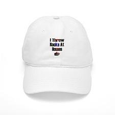 I Throw Rocks at Houses Baseball Cap