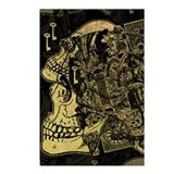 Gothic Skull Collage Postcards (Package of 8)
