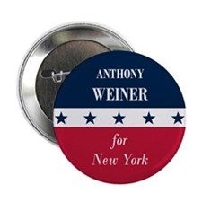 "Anthony Weiner for NYC 2.25"" Button (100 pack)"
