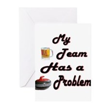 My Drinking Team... Greeting Cards (Pk of 10)