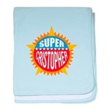 Super Cristopher baby blanket
