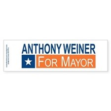 Elect Anthony Weiner OB Bumper Sticker
