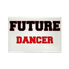 Future Dancer Rectangle Magnet