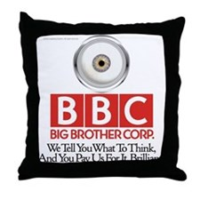 BBC Throw Pillow