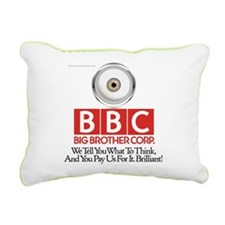 BBC Rectangular Canvas Pillow