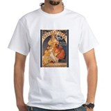 Mucha Chocolate Art Nouveau Label Shirt