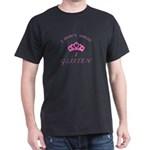 I Don't Sweat...PINK Dark T-Shirt