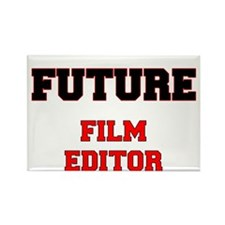 Future Film Editor Rectangle Magnet