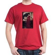Crystal Ball magic lady Waterhouse painting T-Shirt