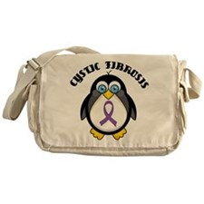 Cystic Fibrosis Penguin Messenger Bag