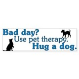 Bad Day Therapy Bumper Bumper Sticker