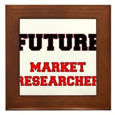 Future Market Researcher Framed Tile