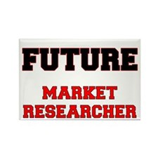 Future Market Researcher Rectangle Magnet