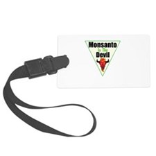 Monsanto is the Devil Luggage Tag