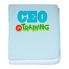 CEO In Training baby blanket