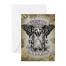 Tempus Fugit Greeting Cards (Pk of 20)