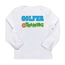 Golfer in Training Long Sleeve Infant T-Shirt