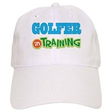 Golfer in Training Baseball Cap