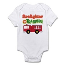 Firefighter in Training Infant Bodysuit