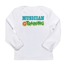 Musician in Training Long Sleeve Infant T-Shirt