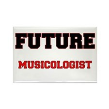 Future Musicologist Rectangle Magnet