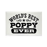 World's Best Poppy Ever Rectangle Magnet