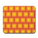 Golden tiles pattern Mousepad