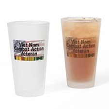 VN Combat Vet Drinking Glass