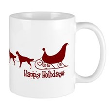 "Irish Setter ""Sleigh"" Coffee Mug"