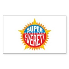 Super Everett Bumper Stickers