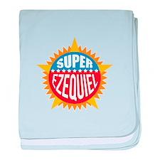 Super Ezequiel baby blanket